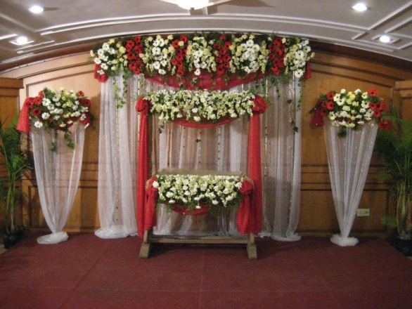 Namakaranam and cradle ceremony cradle ceremony for Baby cradle decoration ideas